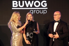 Gala with Barbara Schöneberger: BUWOG wins award for Europe's strongest real estate brand
