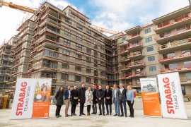 Milestone for BUWOG project: shell of rental property in Kennedy Garden complete