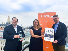Leading Employer Award:  BUWOG among top 1% of Austria's employers